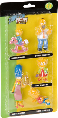 Figuren-Set Simpsons - 5 Figuren je 6-8cm