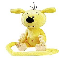 Marsupilami Baby gelb 25cm