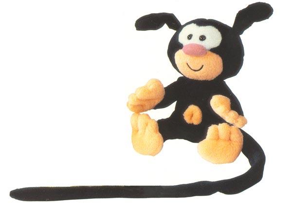 Marsupilami Baby schwarz 14cm