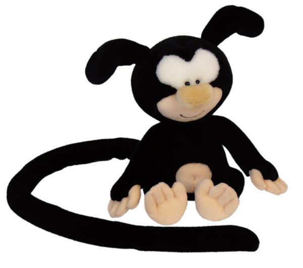 Marsupilami Baby schwarz 25cm