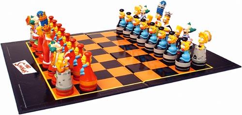 Simpsons Schachspiel