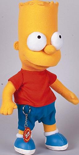Figur Bart Simpsons 38cm
