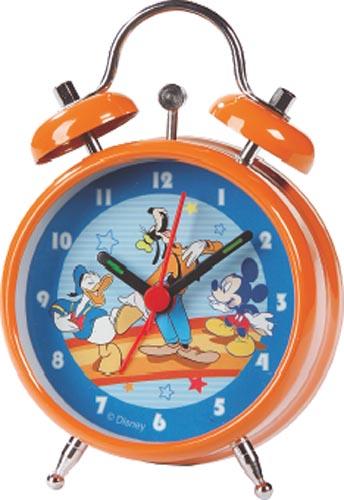 Disney Micky&Donald Serie: Wecker - Metall 7,5cm