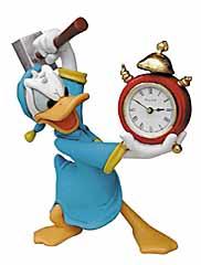 Disney Serie: Donald mit Wecker